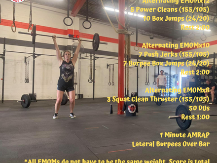 WOD for May 22, 2018
