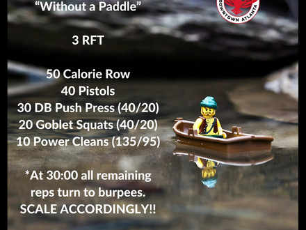 WOD for August 9, 2016