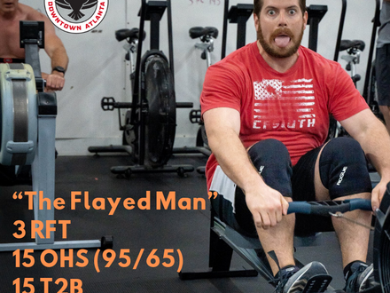 WOD for May 9, 2018