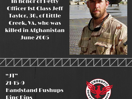 WOD for June 28, 2016