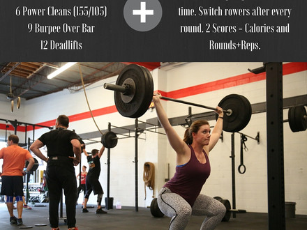 WOD for July 30, 2016