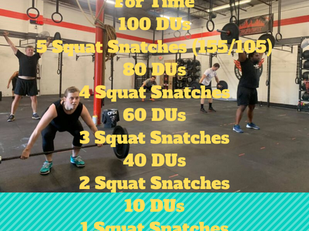 WOD for July 16, 2018