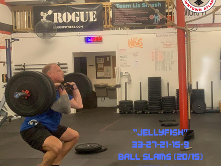 WOD for May 26, 2018