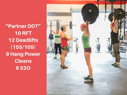 WOD for July 23, 2016