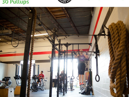 WOD for July 11, 2016