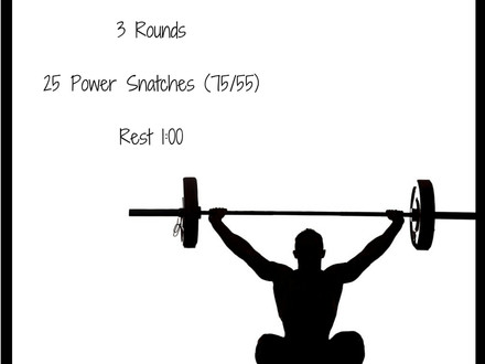 WOD for July 10, 2016