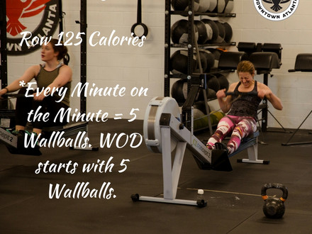 WOD for August 14, 2016