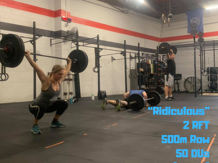 WOD for June 11, 2018
