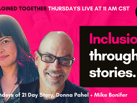 How to Practice Inclusion in Your Stories - Donna Pahel and Mike Bonifer