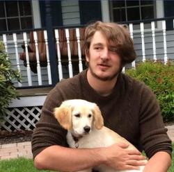 Joe his dog