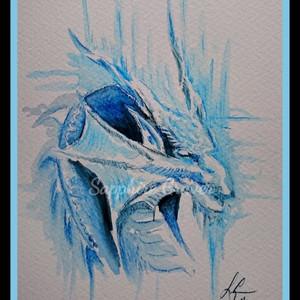 Watercolour Dragon
