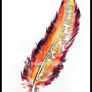 Feather Study 2