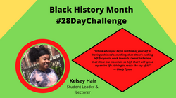 Kelsey L. Hair Black History Month