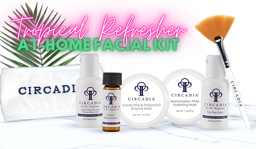 Circadia Tropical Refresher at-home Facial Kit
