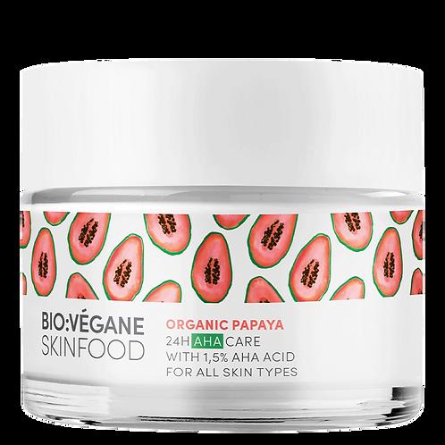 BioVegane Organic Papaya 24H AHA Care Moisturizer – 1.7oz