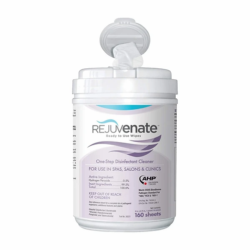 Rejuvenate Disinfectant Wipes, 160 Count