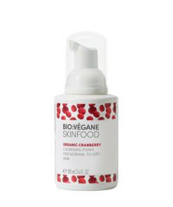 BioVegane Organic Cranberry Cleansing Foam [ For Normal to Dry Skin ] – 3.4oz