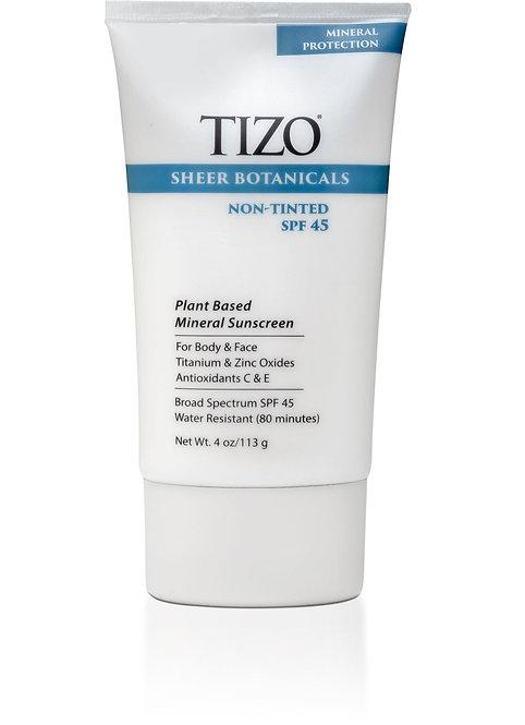 TIZO® Sheer Botanicals dewy finish Non-Tinted SPF 45