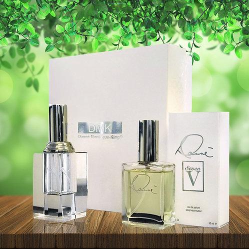 DANNE 7V Gift Set -1.7oz Perfume & Crystal Bottle