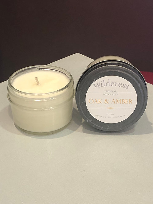Oak & Amber Candle