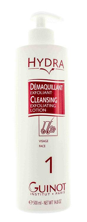 Guinot Demaquillant Exfoliant- Cleansing Exfoliating Lotion 500ml / 14.8oz Prof