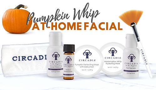 Pumpkin Whip at-home Facial