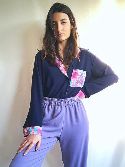 Calça de pijama lilás