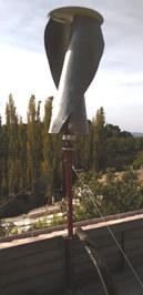 Eolienne verticale proto V2