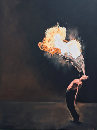The firebreather