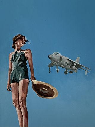 Norfolk skies ...Harrier