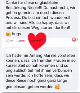 Coaching Online Gruppe Liebe Selbstbewus