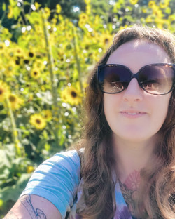 Sunflowers and me