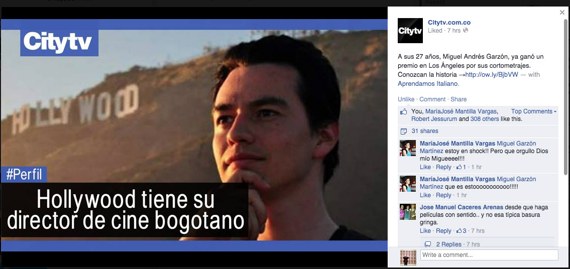 Featured on CityTV Facebook Page