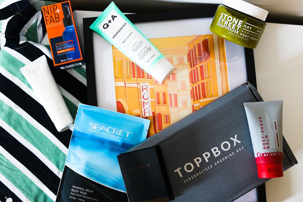 Toppbox skincare