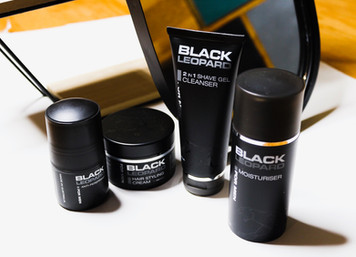 Black Leopard Skin Care