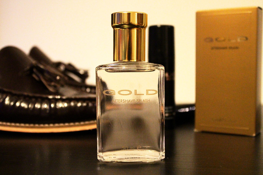 Gold Aftershave
