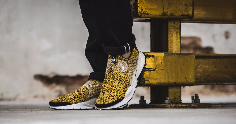 yellow nike trainers safari