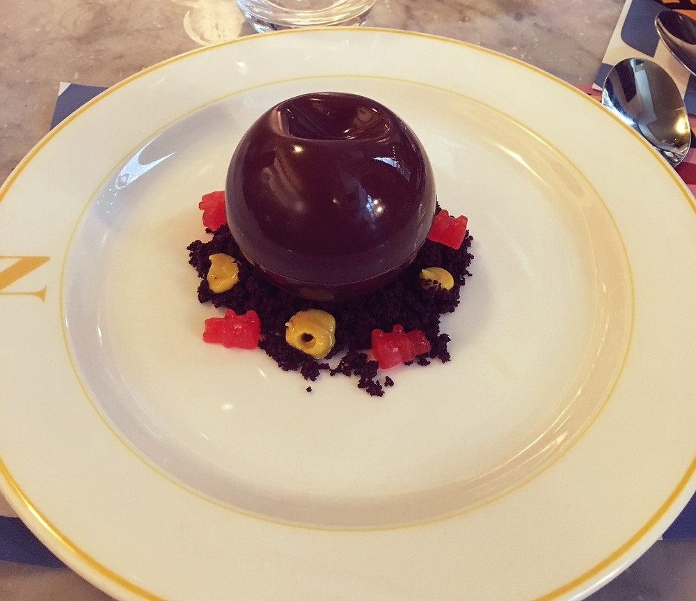 Dessert Chocolate ball