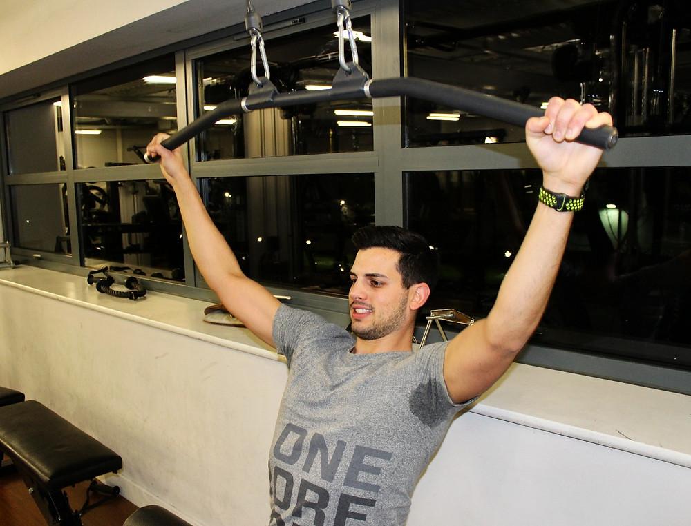 Back exercise gym
