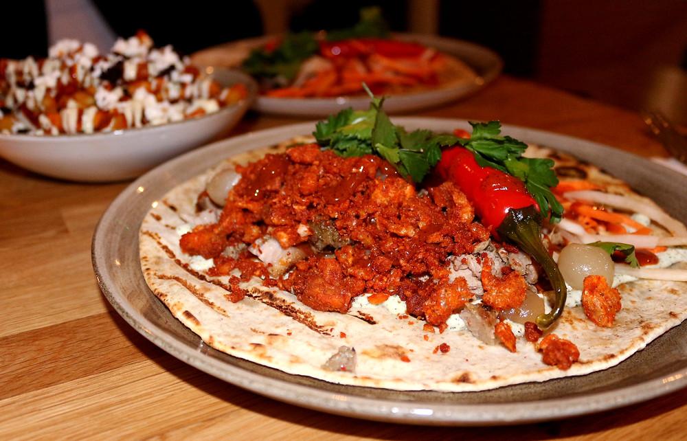 Pork Souvlaki Kebab
