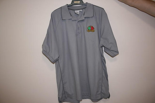 Polo Shirt - Grey - Cdo Assn Embroidery