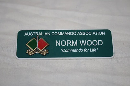 Name Badge,  Association