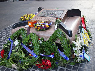 CDO Memorial Seat ANZAC Day 2013.jpg