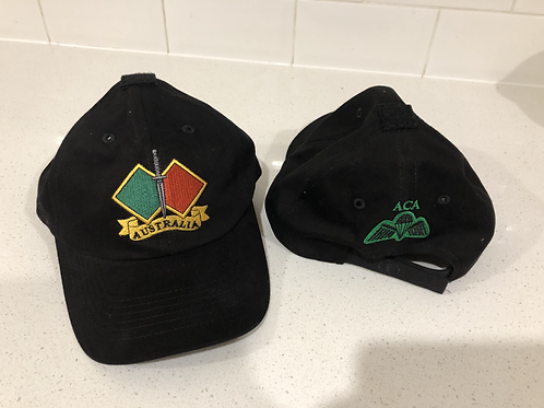 Black Hat Front and rear - Cdo Para Wings