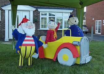 The winning Scarecrow, Noddy made by Rick & Vicki Chalcraft
