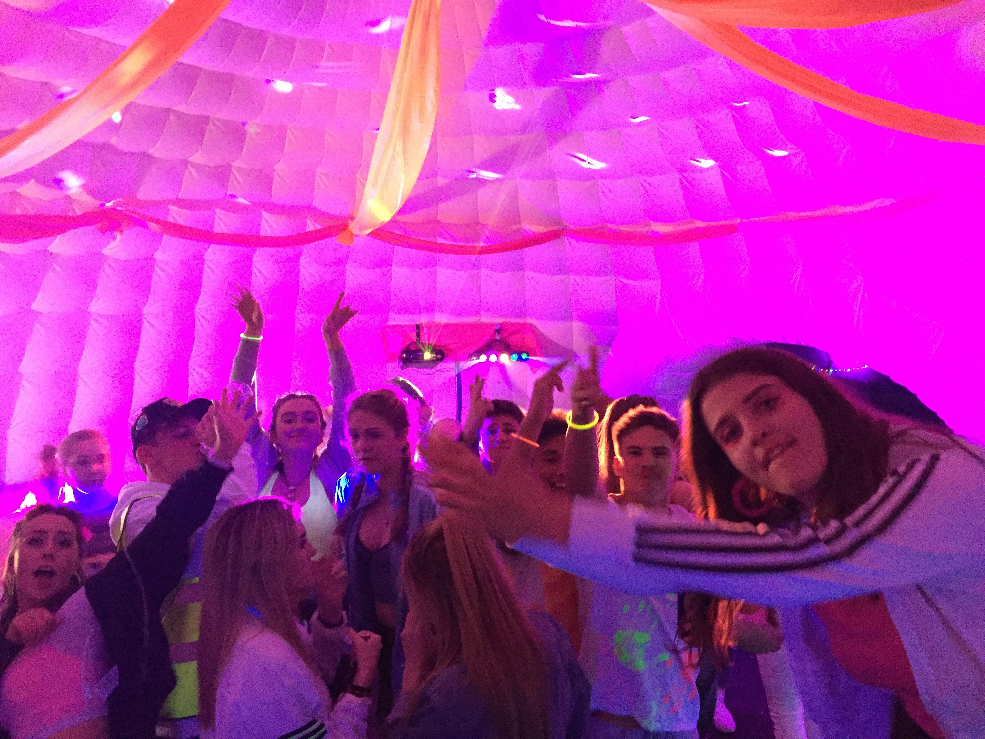 8m Igloo Party inside
