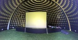10m dome used as cinema