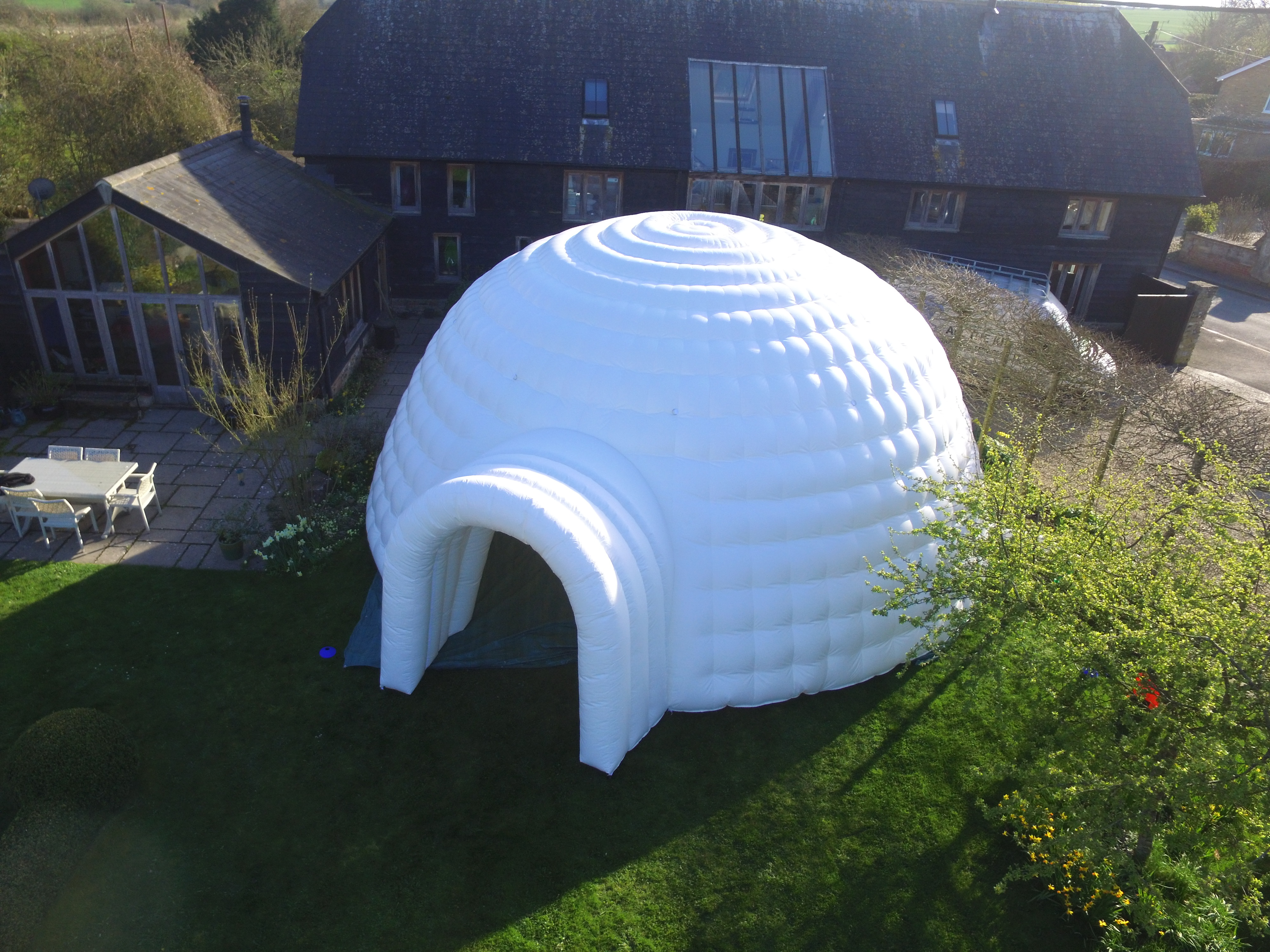 8m Igloo from drone