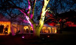 Marquee Wedding Outdoor Lighting