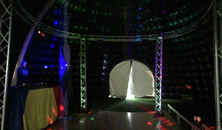 10m inflatable party dome inside